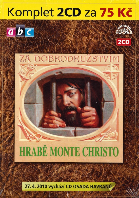 Hrabě Monte Christo 2CD